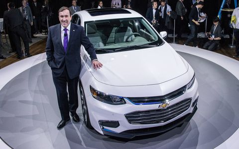 The 2016 Malibu made its debut in New York.