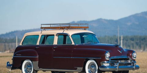 Just 1,100 examples were made for the 1954 model year.