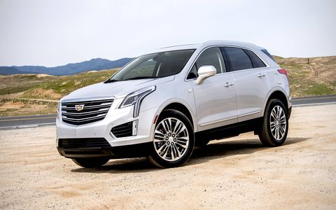The XT5 picks up where the SRX left off, with a 3.6-liter V6 underhood good for 310 hp.