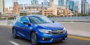 The Civic Coupe is new inside and out for the 2016 model year.
