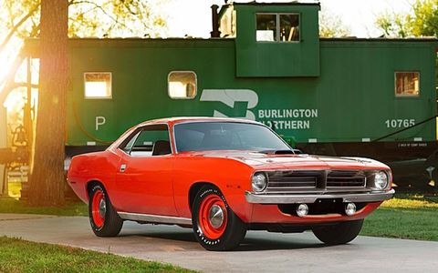 This 'Cuda sold new in West Virginia.