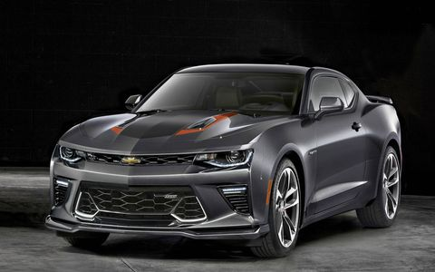 The 2017 Chevrolet Camaro 50th anniversary edition will be offered in coupe and convertible form.