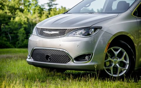 Chrysler is back in the minivan game with the all-new Pacifica, with the Touring version featuring a 3.6-liter V6 connected to a nine-speed automatic.