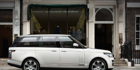 Carat Duchatelet is offering two stretched versions of the Range Rover, one of them with completely redesigned reverse-opening doors.