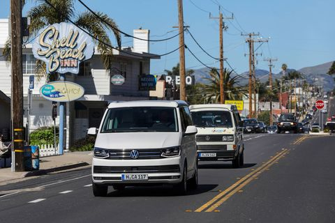 Volkswagen sketched out the perfect itinerary for a California and Great Southwest road trip in its California van. We got to drive three days' worth of it.