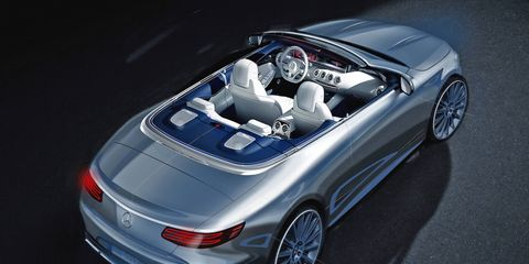 The S-class Cabriolet will debut at the Frankfurt Motor Show and will go on sale by 2016.