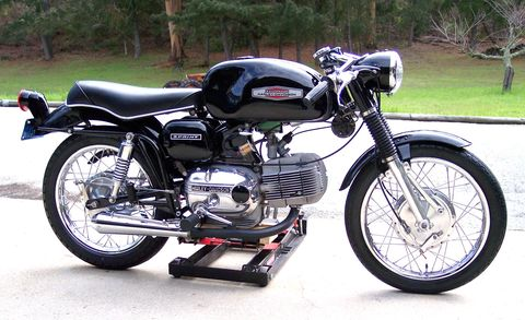 How often do you see an Aermacchi Harley-Davidson Sprint?