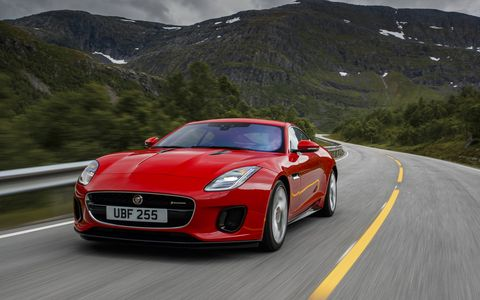The mighty Jaguar F-Type already comes in V6 and V8 configurations but starting later this year Jag will offer a 296-hp turbocharged four-cylinder in the mix. And guess what? It works perfectly well in the all-aluminum sports car. Prices start at $60,895.