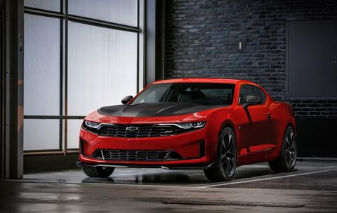 The 2019 Chevrolet Camaro debuted at ahead of a dealer conference in Las Vegas.