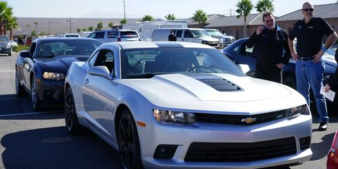 This is a Camaro SS, stock. Chances are, you've probably seen one already.
