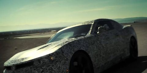 The 2016 Chevy Camaro will make its public debut May 16 at Detroit's Belle Isle.