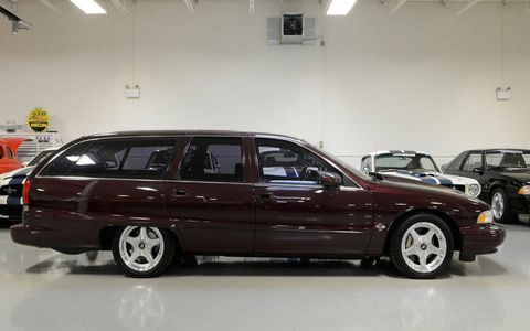 This 1994 Chevrolet Caprice wagon from the Lingenfelter Collection will be sold at Mecum's 2017 Kissimmee auction.