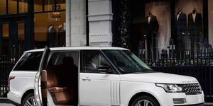 A number of coachbuilders and armorers such as Carat Duchatelet, above, have stretched and redesigned the interiors of Range Rovers for individual customers.