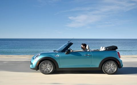 One more reason to love Minis: the new Mini Cooper S Convertible, coming to showrooms in March.