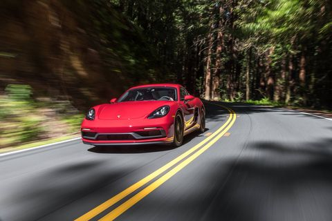 The Porsche 718 GTS makes more power, more torque, and offers quicker acceleration and better handling than the standard 718 and even the 718 S.