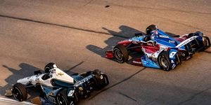 Ed Carpenter, left, and Josef Newgarden could be teammates in 2015 as their two teams are merging.