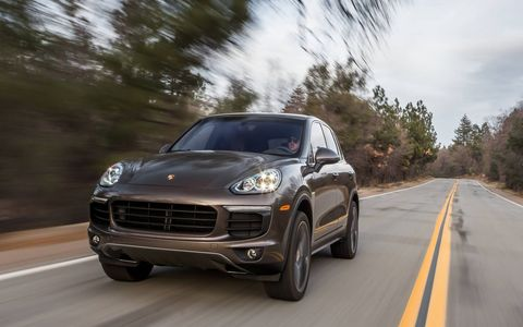 The 2015 Porsche Cayennes are more powerful, handle better and get better mileage than before. We drove the Cayenne S and S E-Hybrid.