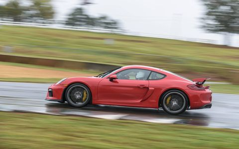 Porsche's Cayman GT4 -- the most hardcore Cayman you can get -- tackles Road Atlanta