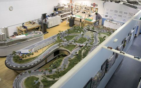 Slot Mods strives to make the most intricate and and detailed slot car raceways around.