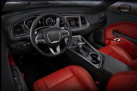 The 2018 Dodge Challenger GT gets a launch-control mode accessible through the car's touchscreen.