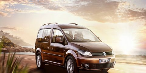 The next Volkswagen Caddy, due in late 2016, could be offered in the U.S.