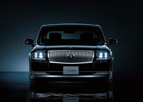 The Toyota Century is a time capsule of Japanese luxury.