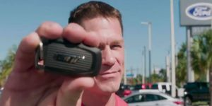 Cena was one of the lucky 500 to get his hands on the Ford GT supercar.