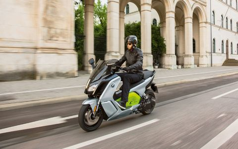 BMW CEvolution scooter