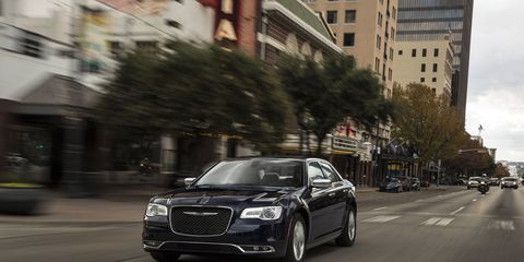 The 300C is a throwback to the days of big American sedans.
