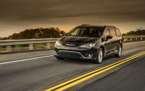 The 2017 Chrysler Pacifica minivan replaces the Town & Country and, eventually, the Dodge Grand Caravan in Chrysler's lineup.
