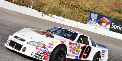 Chad Finchum dominated Saturday's NASCAR K&N race at Bristol.