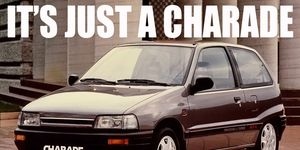 The Daihatsu Charade was sold well into the 1990s.