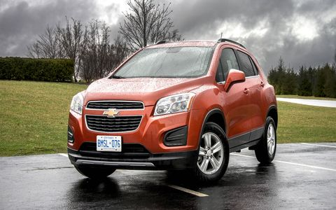 The 2015 Chevrolet Trax will go on sale in January of 2015.