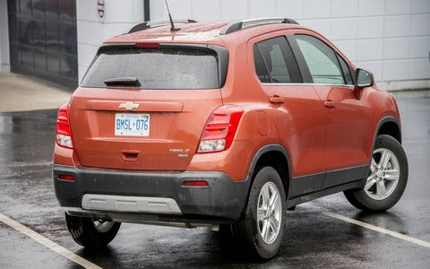 The 2015 Chevrolet Trax will be powered by a 1.4-liter inline-four engine.