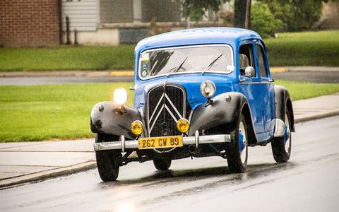Citroen Traction  at the 2016 Carlisle Import Nationals.