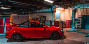 Honda probably didn't imagine its Civic Type R going this way, but that's what customization is for.