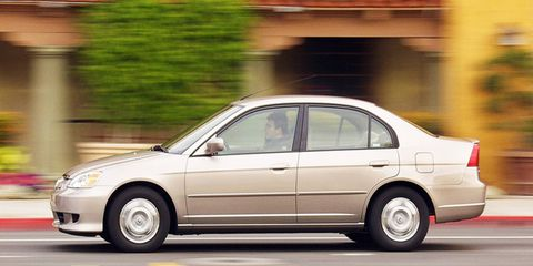 Several Honda and Acura vehicles from 2001 through 2003 have been placed in a higher-risk category by the NHTSA.