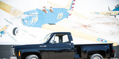 A few motors and a new body and this 1973 Chevy C10 can still roll.