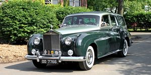 Coachbuilders have turned Rolls-Royce sedans, such as this Cloud I from 1959, into estates.
