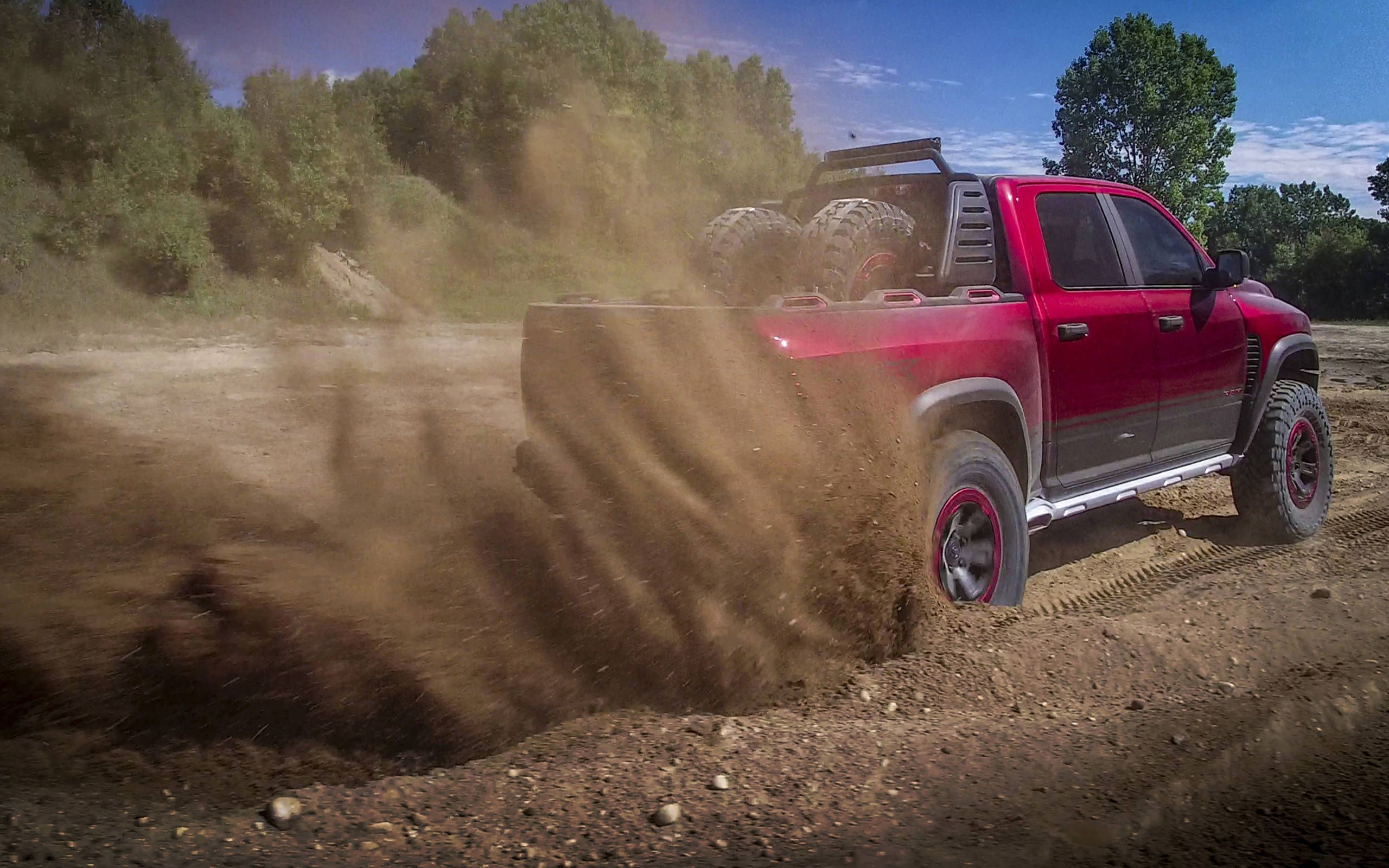 Ram Rebel Trx 7 Things To Know About The Hellcat Engined High Speed Off Road Concept Truck