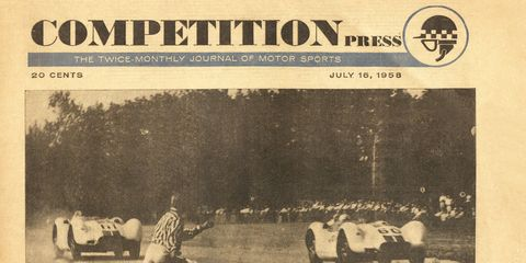 Competition Press and Autoweek took on racing like no other magazine, right from the start.