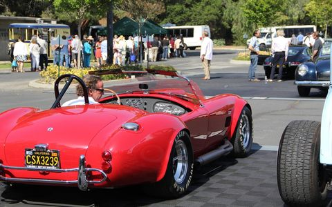 The Greystone Mansion Concours d'Elegance in Beverly Hills is held in a beautiful location overlooking a beautiful city full of beautiful people. And there are beautiful cars, too.
