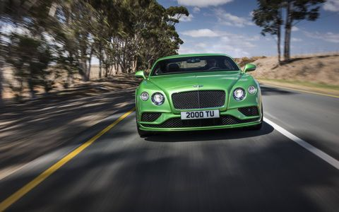 The 2015 Bentley Continental GT will debut in Geneva with more power and upgrades inside and out.