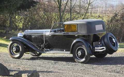 1930 Cord Model L-29 Town Car by Murphy & Co. -- $1,760,000.