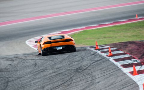 The Lamborghini Accademia Intensivo at Circuit of the Americas teaches Lamborghini owners how to drive their cars on a race track.