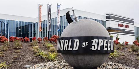 World of Speed opened its doors to the public in 2015.