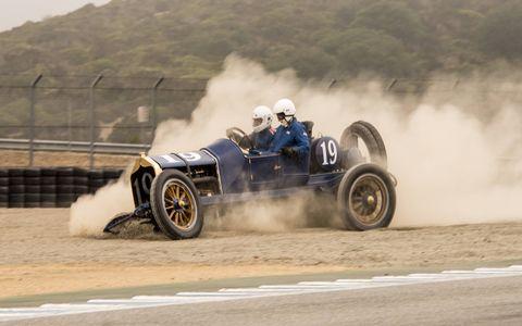 Pre-war cars kick off nine hours of vintage racing at Mazda Raceway Laguna Seca.