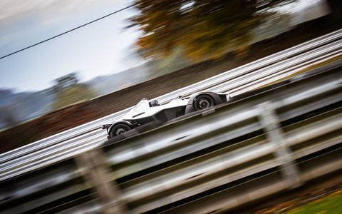 "The BAC Mono is truly a race car for the street, assuming you can convince your DMV of it. If not, it'll be a great track car for the track. Either way you can use ""great"" and not be stretching the truth."
