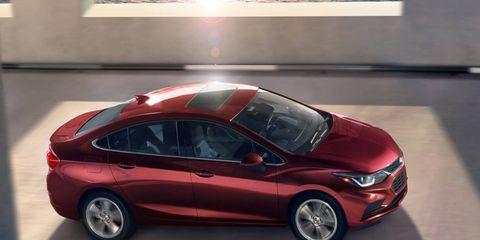 Chevrolet will offer a 1.6-liter diesel engine in the Cruze next year.