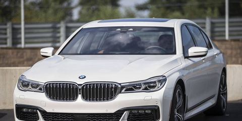 BMW's new-for-2016 7-series sedan is equipped 3.0-liter twin turbo inline six engine and an eight-speed automatic transmission.